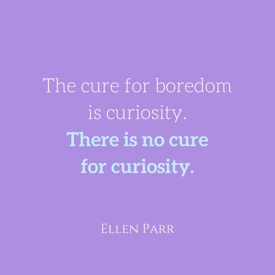 boredom cure